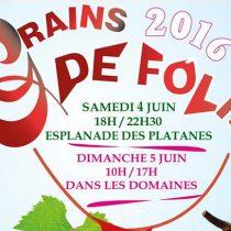 7ème édition de Grains de Folie à Montagnac