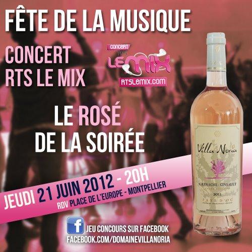 Fête de la Musique - RTS LE MIX