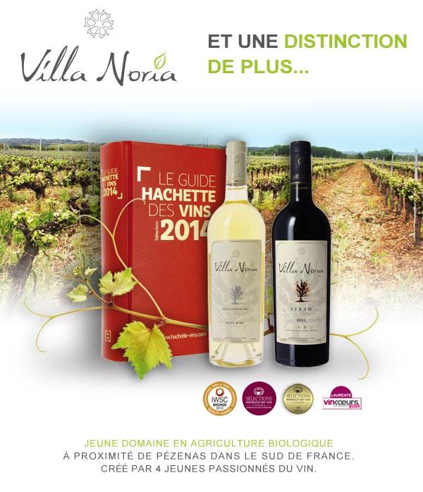 Villa Noria - 2 étoiles au guide Hachette 2014
