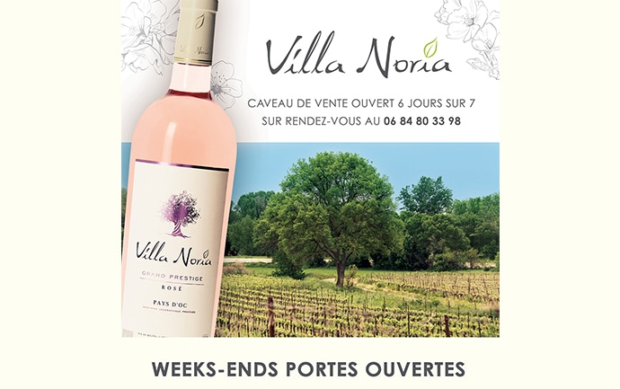 Calendrier 2016 des portes ouvertes de Villa Noria