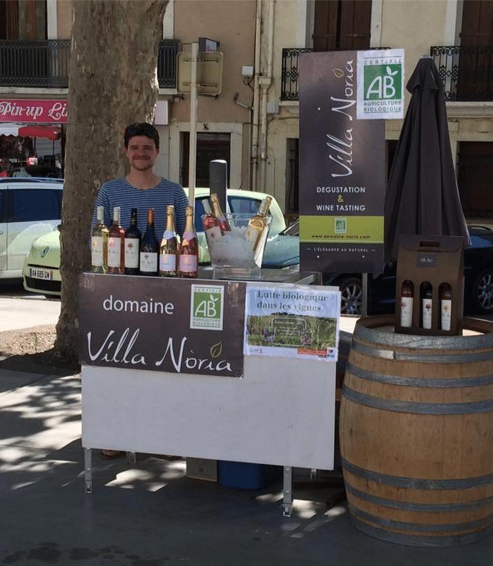 Villa Noria à la 1ère édition des rencontres vins et saveurs de Mèze