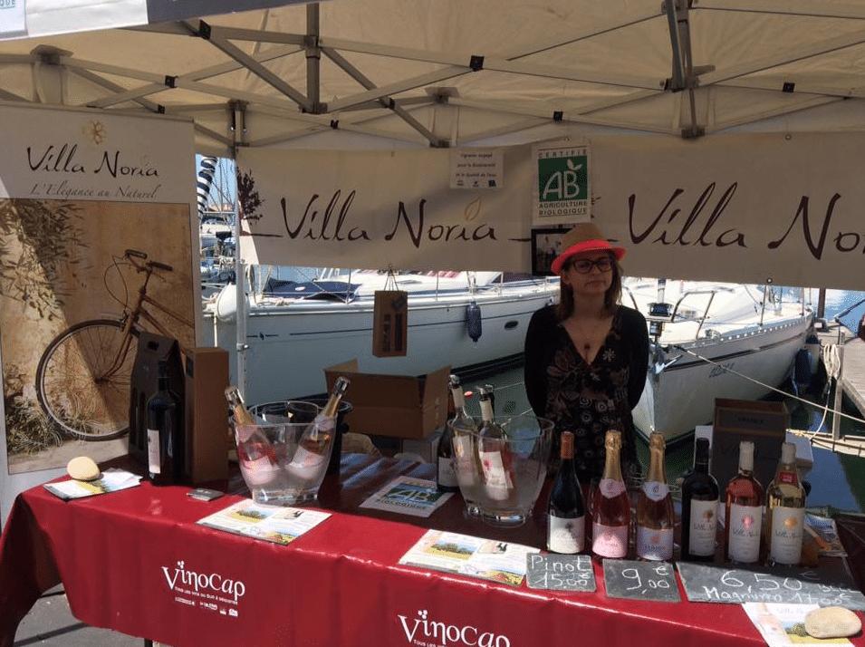 Villa Noria au Vinocap 2016 au Cap d'Agde